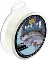 Шнур WFT TargetFish 8 Trout/Sea Trout Trans 180m 0.08mm 11lb/5kg