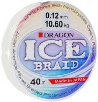 Шнур зимний DRAGON ICE Braid 40m 0.16mm 15.50kg