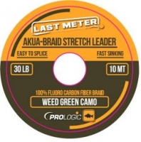 Шок-лидер PROLOGIC Akua-Braid Leader 10m 30lbs Camo Green