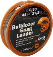 Шок-лидер Prologic Bulldozer Snag Leader 100m 0.60mm 44lb/21.3kg Camo